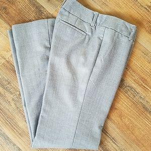 Gray pinstripe pants by Banana Republic size 6